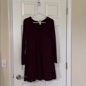 H&M basic shift dress